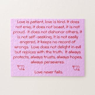 愛は決して失敗しません ジグソーパズル