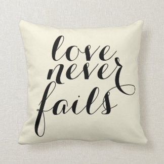 愛は決して枕を失敗しません クッション