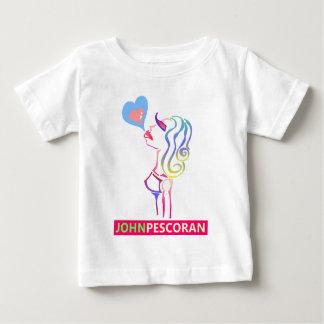 愛は活気付きます: Hermosa ベビーTシャツ