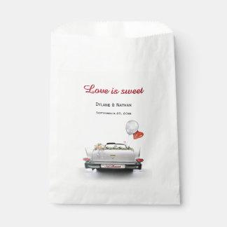 愛は甘いです-たった今結婚しました車 フェイバーバッグ