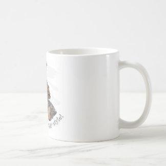 愛は睡眠の小犬様式です コーヒーマグカップ