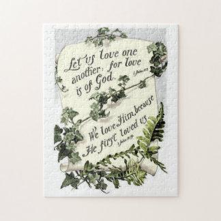愛は神です ジグソーパズル