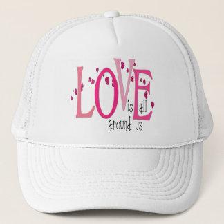 愛は私達のまわりに完全に-帽子です キャップ
