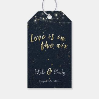 愛は空気結婚式の引き出物にあります ギフトタグ