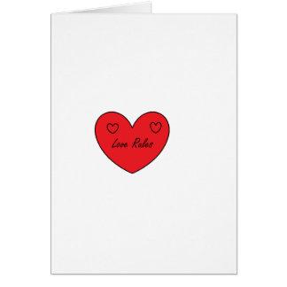 愛は範囲を支配します カード