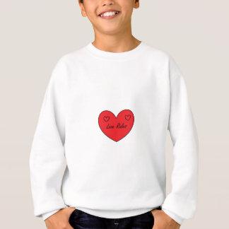 愛は範囲を支配します スウェットシャツ