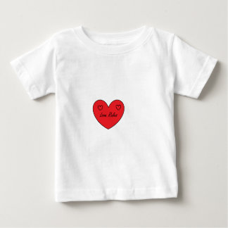 愛は範囲を支配します ベビーTシャツ