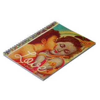 愛は精神のノートにあります ノートブック