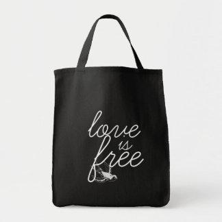 愛は自由に大きい戦闘状況表示板です トートバッグ