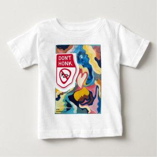 愛は警笛を鳴らしません ベビーTシャツ