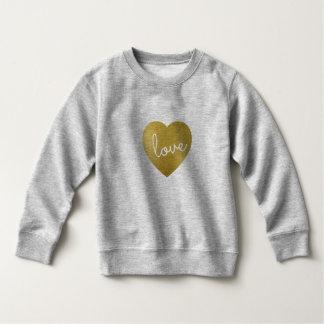 愛は金です スウェットシャツ