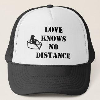 愛は間隔の帽子を知っていません キャップ