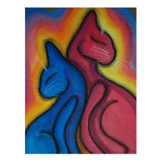 愛は魔法猫です ポストカード