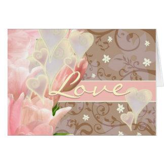 愛は1 Corinthiansの13:4 - 8 NIVです カード