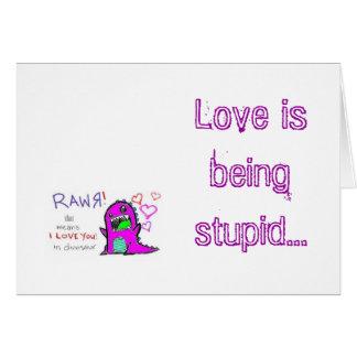 愛は…あります カード