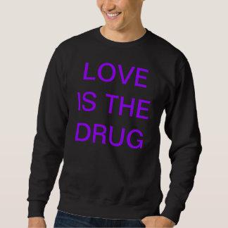 愛はDRUG/DIVINE KAOSです スウェットシャツ