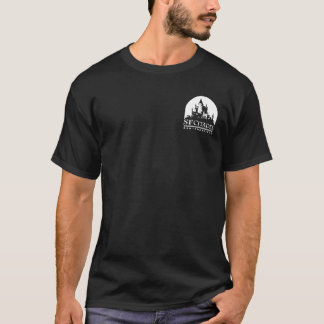 愛はSFの砦によって決め付けられるティーを傷つけます Tシャツ