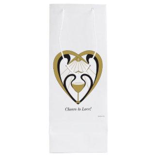 愛への応援 ワインギフトバッグ