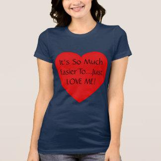 愛への簡単 Tシャツ