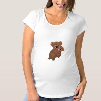 愛らしいコアラのベビー マタニティTシャツ