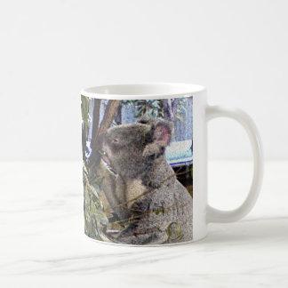 愛らしいコアラ コーヒーマグカップ