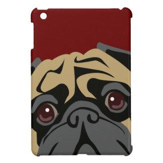愛らしいパグ iPad MINIケース