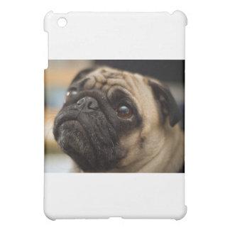 愛らしいパグ iPad MINI カバー