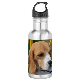 愛らしいビーグル犬 ウォーターボトル