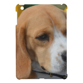 愛らしいビーグル犬 iPad MINIケース