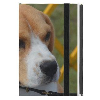 愛らしいビーグル犬 iPad MINI カバー