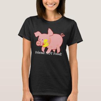 愛らしいベビーのブタのTシャツ Tシャツ
