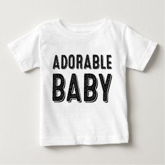 愛らしいベビーのTシャツ ベビーTシャツ