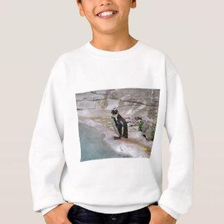 愛らしいペンギン スウェットシャツ