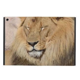 愛らしいライオン iPad AIRケース
