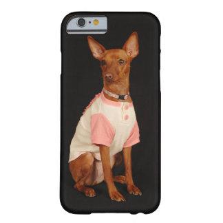 愛らしい子犬の電話箱 BARELY THERE iPhone 6 ケース