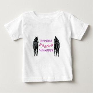 愛らしい子馬か馬 ベビーTシャツ