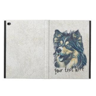 愛らしい漫画犬のペットの世話のグルーミングのモデル POWIS iPad AIR 2 ケース