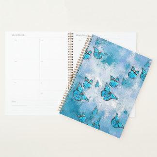 愛らしい蝶、水 プランナー手帳