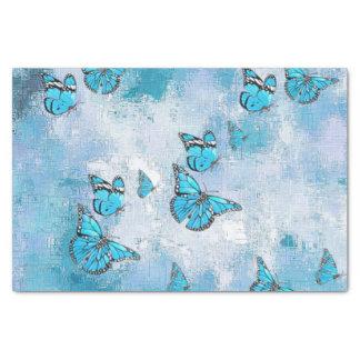 愛らしい蝶、水 薄葉紙
