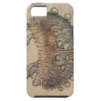 愛らしい青足のハリネズミ iPhone SE/5/5s ケース