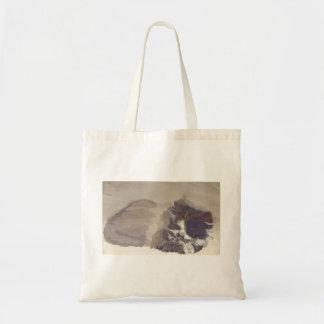 愛らしい3のトートバックは猫のスケッチを着色します トートバッグ