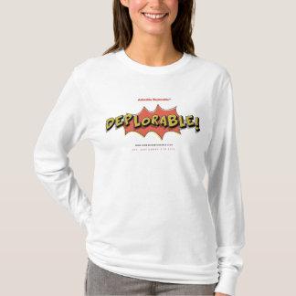 愛らしいDeplorable™米国の選挙2016の切札米国 Tシャツ