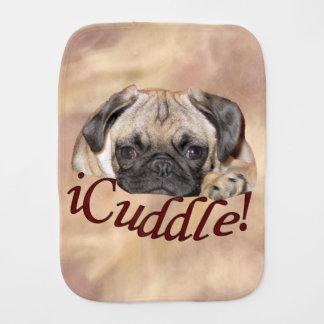愛らしいiCuddleのパグの子犬 バープクロス
