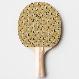 愛らしいshibeの総督のおもしろいおよびおもしろいなミーム 卓球ラケット