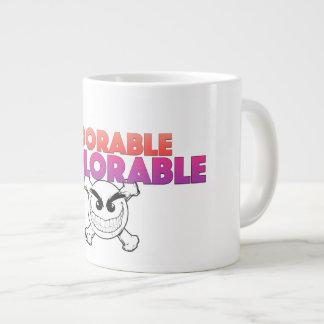 愛らしく嘆かわしいマグ ジャンボコーヒーマグカップ