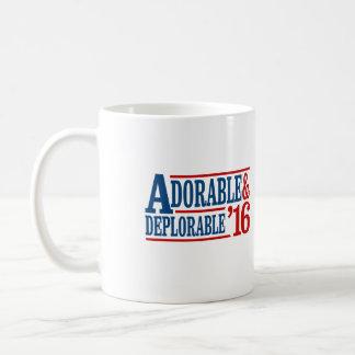 愛らしく、嘆かわしい2016年-白 -- 選挙2 コーヒーマグカップ