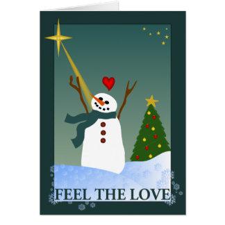 愛を感じて下さい カード