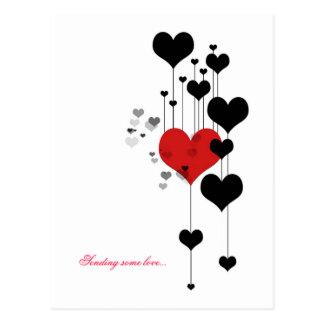 愛を送ります… ポストカード