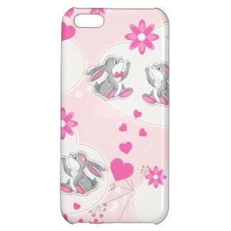 愛を送るバニー iPhone5Cケース