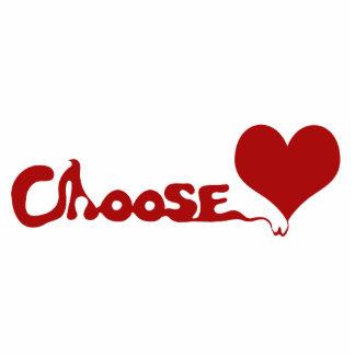 愛を選んで下さい フォトスカルプチャー
